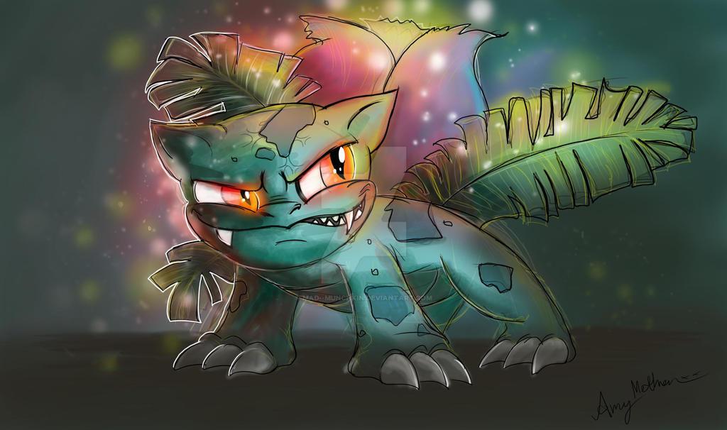 Ivysaur by Mad--Munchkin