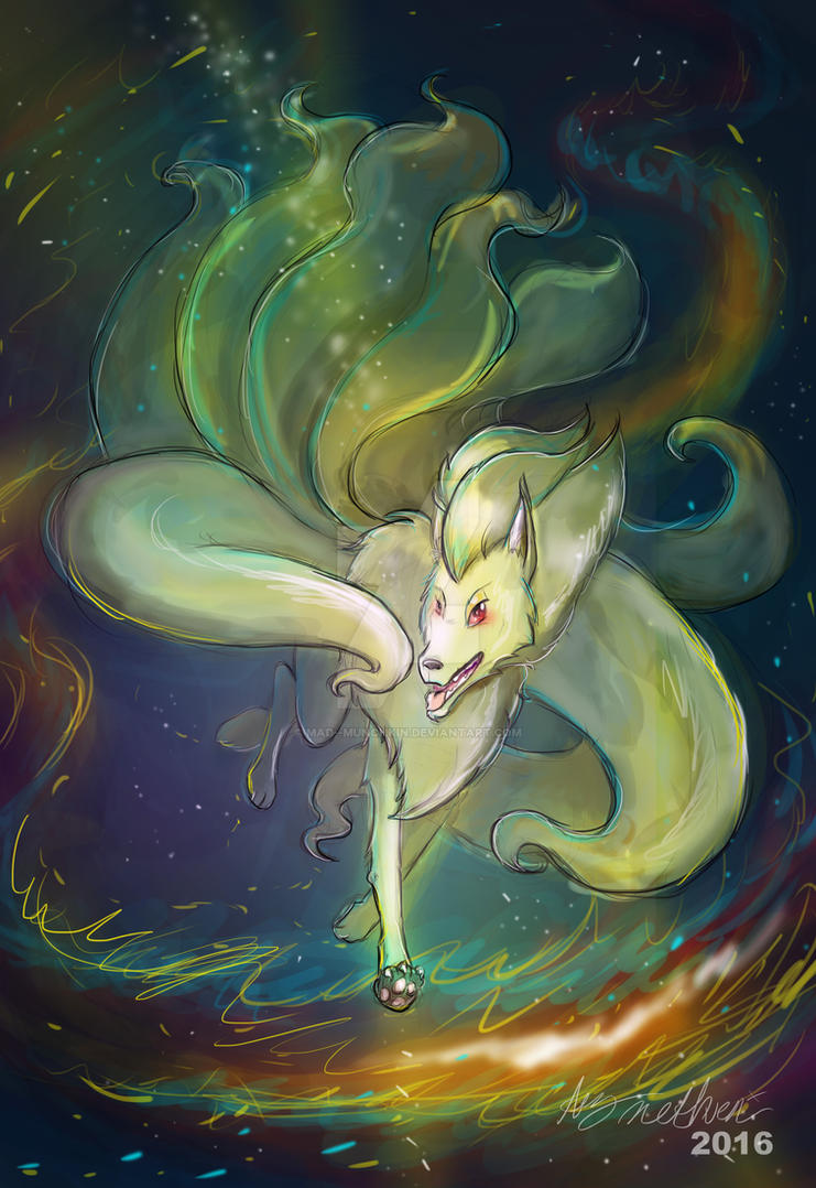 Ninetails by Mad--Munchkin