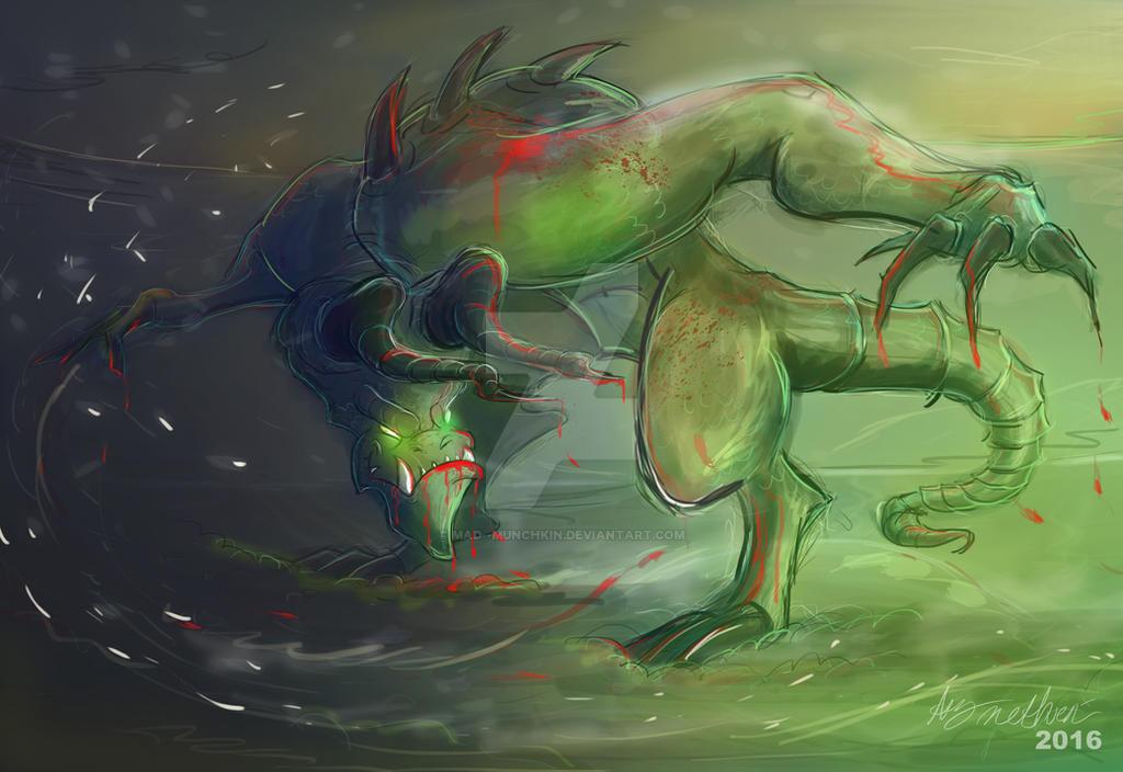 Deathclaw by Mad--Munchkin