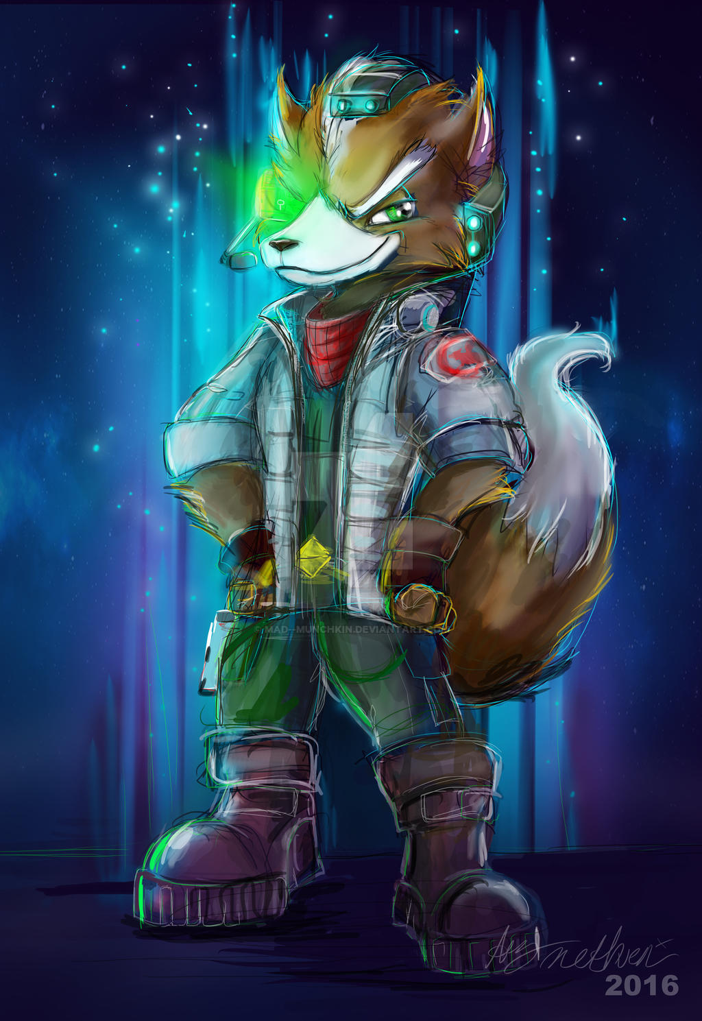 Star Fox by Mad--Munchkin on DeviantArt