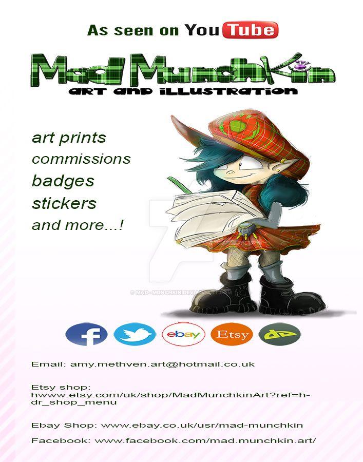 Mad Munchkin 2016 Promo by Mad--Munchkin