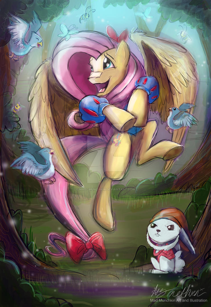 Fluttershy Snow White by Mad--Munchkin