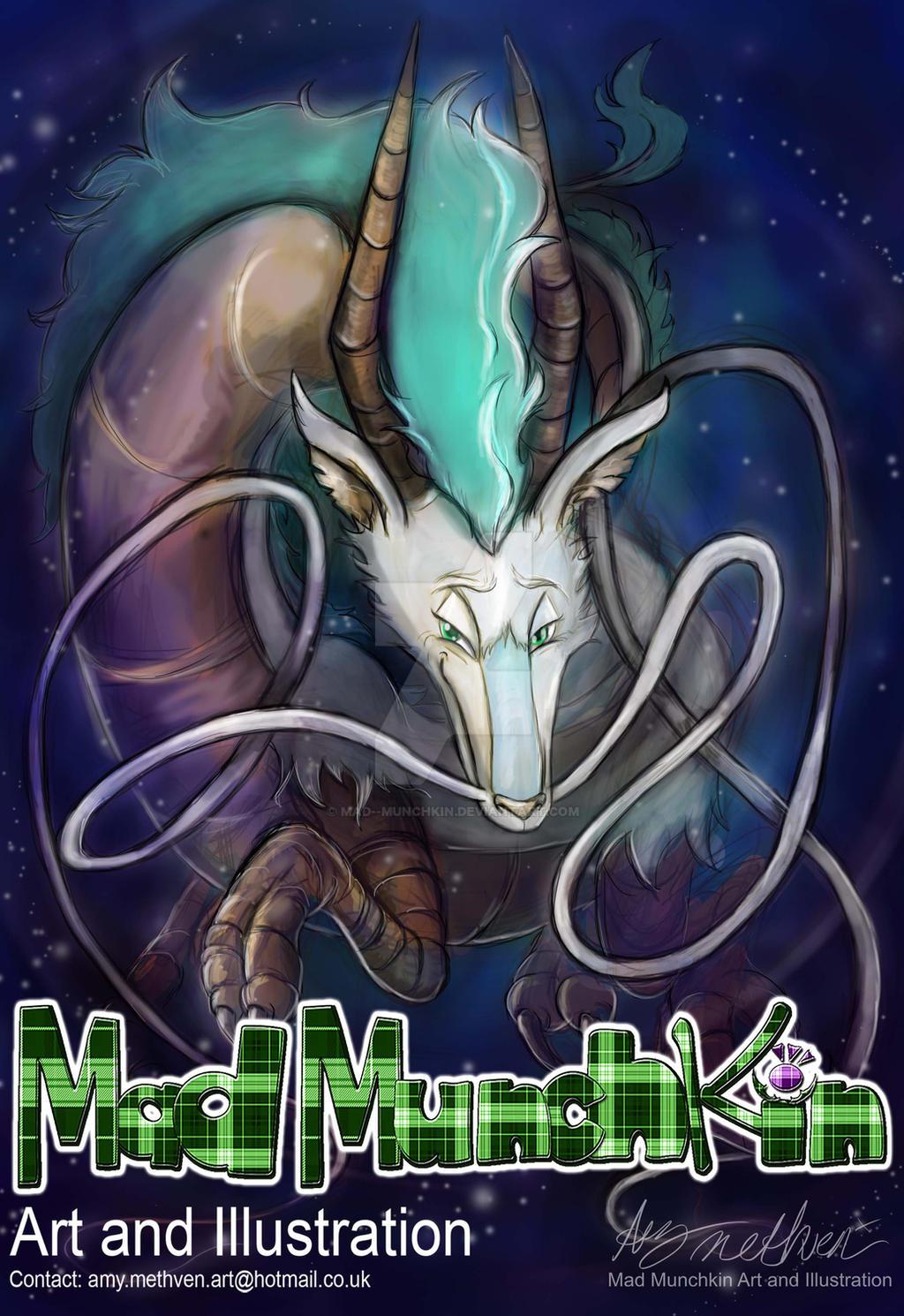 Haku Dragon Spirited Away By Mad Munchkin On Deviantart
