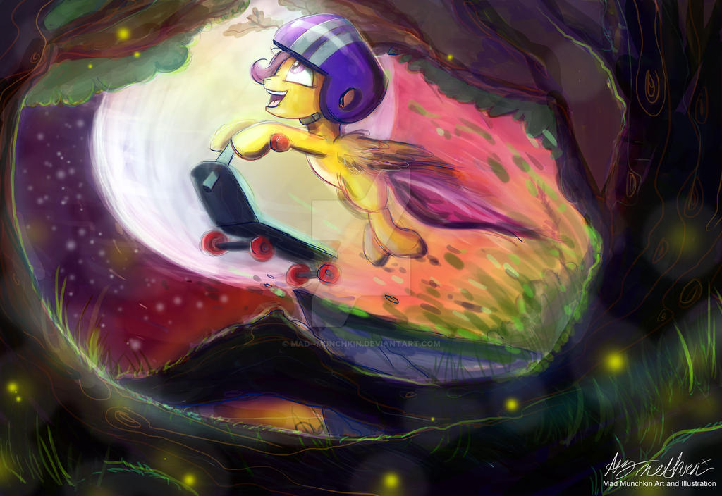 Scootaloo by Mad--Munchkin
