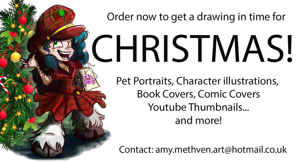 Christmas orders last chance by Mad--Munchkin