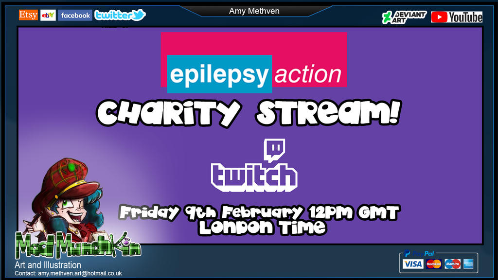 Charity Stream Epilepsy Action by Mad--Munchkin