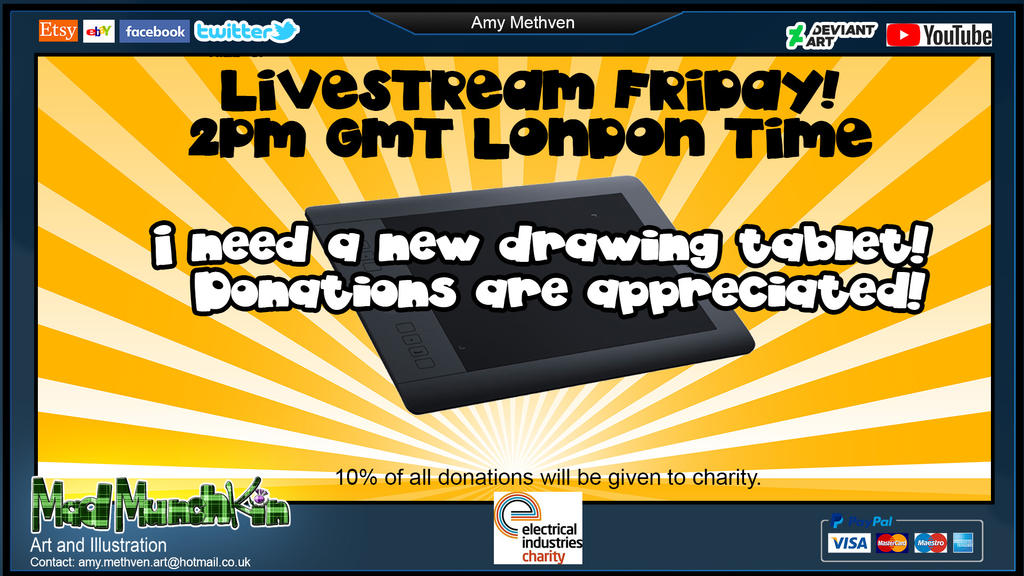 Drawing Tablet Stream by Mad--Munchkin