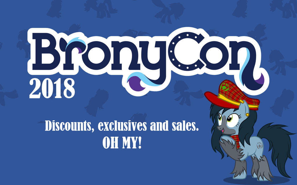 BronyCon 2018 DEALS by Mad--Munchkin