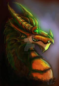 Copper Dragon Headshot