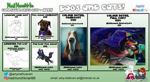 Dogs Commission Price List
