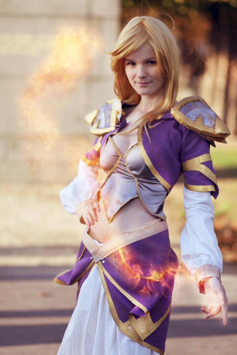 Jaina Proudmoore: Fireball by ShaeUnderscore