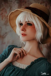 Quick Cosplay #9 : Sophie (White Hair)