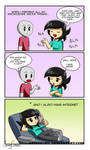 Mini Comics - Cats Knowledge by AriaPrime