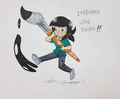 I wanna keep drawing...