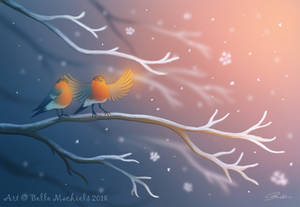 First Snowfall by labelleart