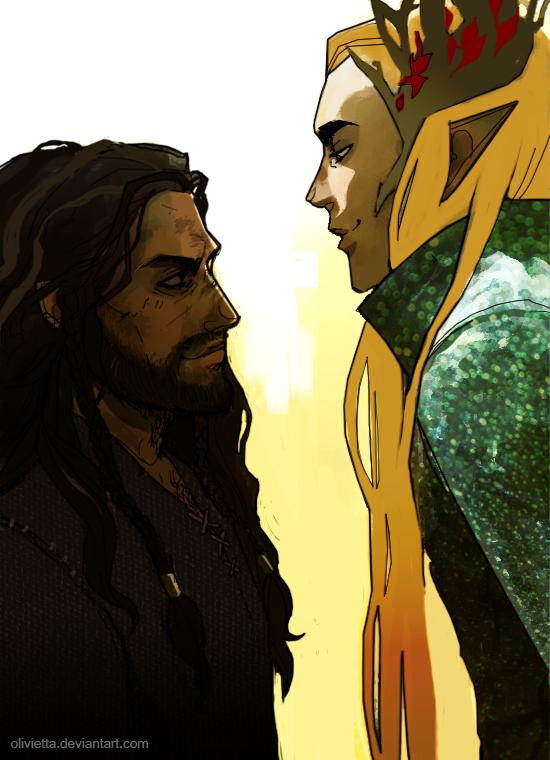 hobbit: Clash of The kings by Olivietta