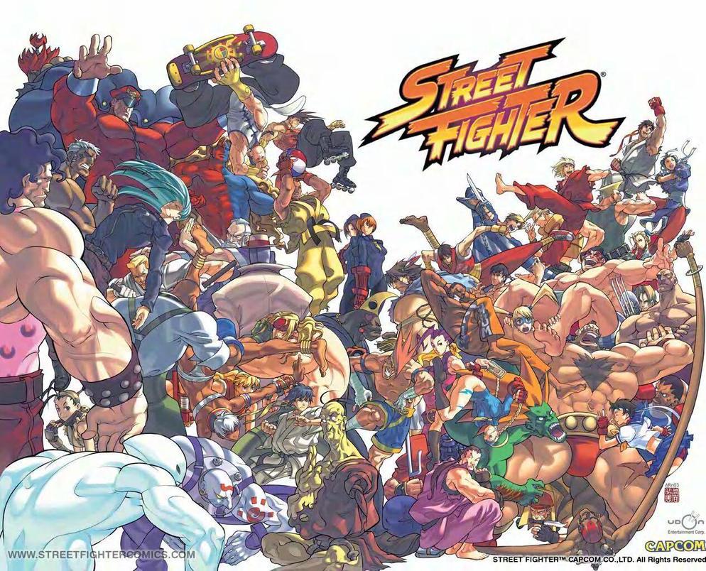 Street Fighter Wallpaper By Dejo12788