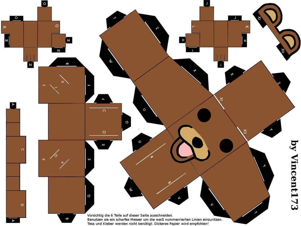 PEDOBEAR recortable
