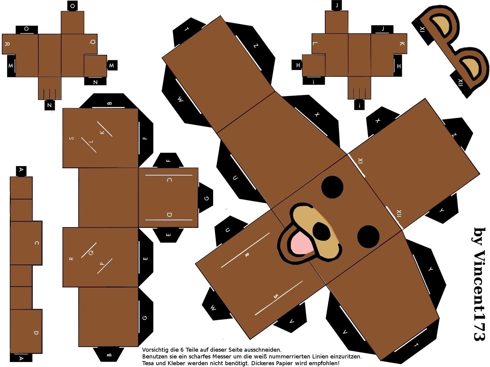 Danbo papercraft a by yuiiwae on deviantart papercraft by ko koneko altavistaventures Choice Image