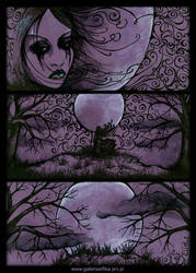 In the cold light of the moon by ELFik13