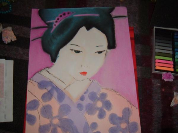 geisha by shadowsfairy