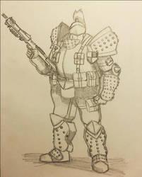 Big boi armor by biomax12