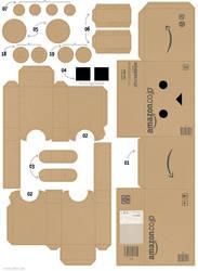 Danboard Papercraft Amazon 01 by Zarzamorita