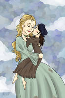 Fantine and Cosette by Meowkin