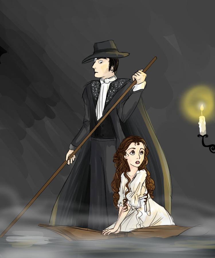 Phantom doodle by Meowkin