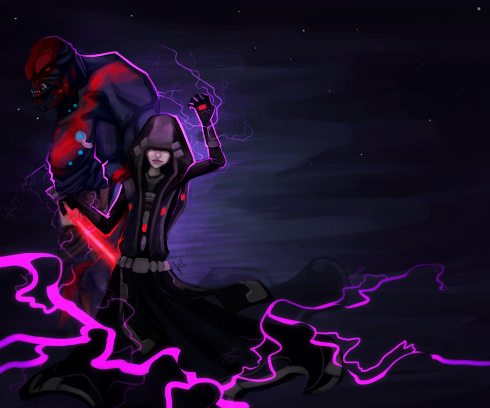 Sith Inquisitor by AvannTeth