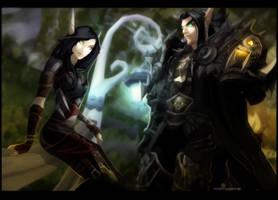 Shirexia + Villius by AvannTeth