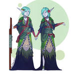 Edune Twins outfit