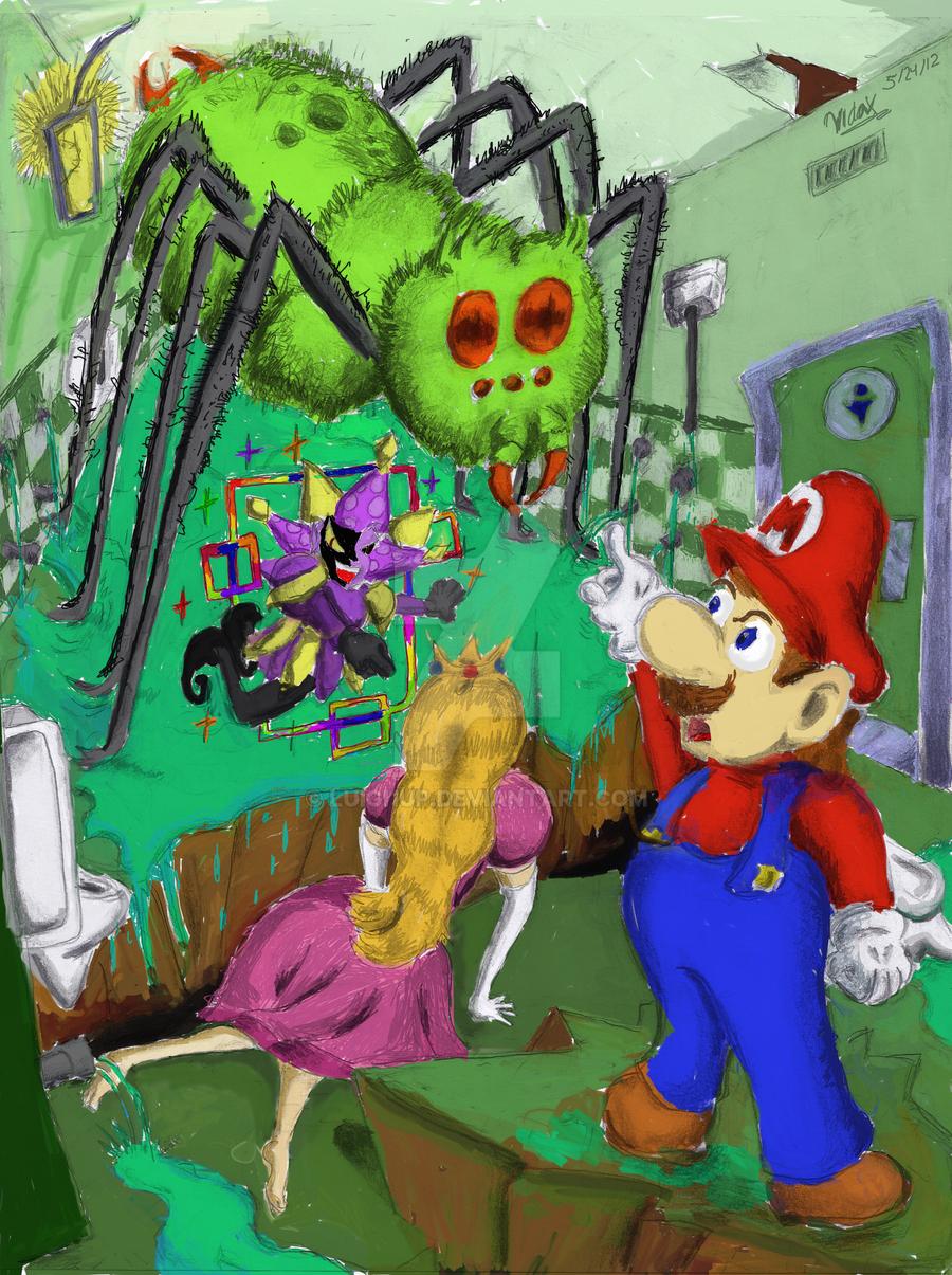 Super Paper Mario Mimi Spider