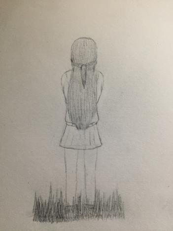 Girl Backside Drawing By Aydenarts On Deviantart