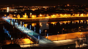 Lithuania, Kaunas City, Aleksotas Bridge