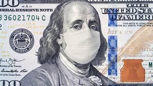 100 dollar bill Ben Franklin Mask