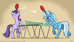 Unicorn ping pong