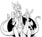 Dragons and ice cream