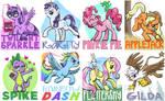Pony badges