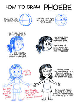 How to draw Phoebe