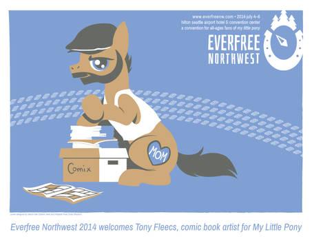 Tony Fleecs announcement