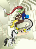Everfree NW welcomes John DeLancie! by Pedantia