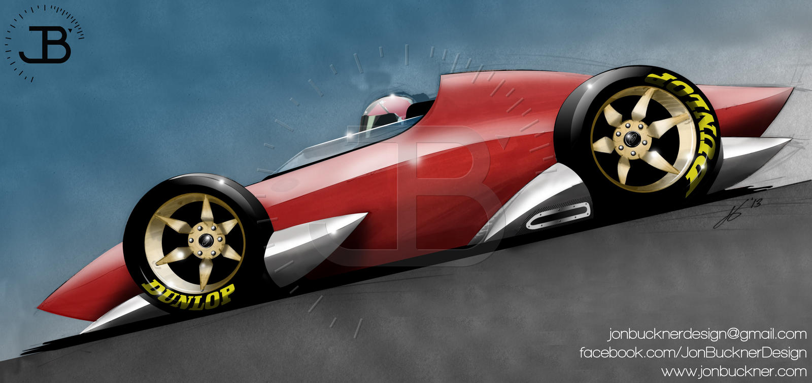 Ford Open Wheel Concept Car by JonBuckner