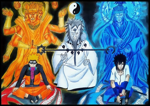 The Sage of  Six Paths   Naruto Shippuuden