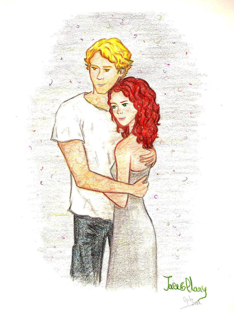 Jace and Clary by Jen7waters on DeviantArt  |Jace And Clary Fan Art Tumblr