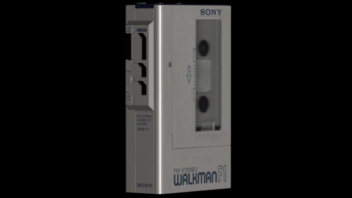 Sony Walkman WM-F1 Test Render by GaryMotherPuckingOak