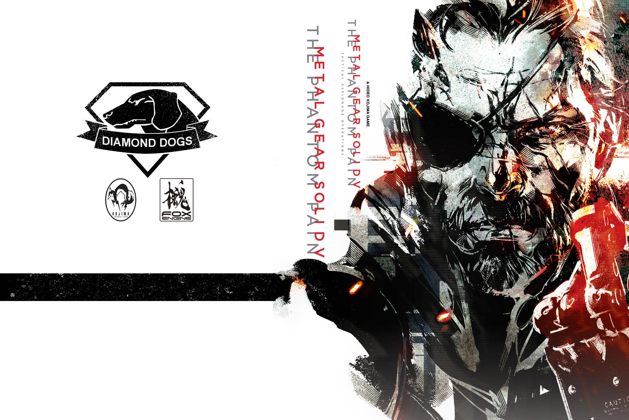 mgsv phantom pain shinkawa cover fan made by