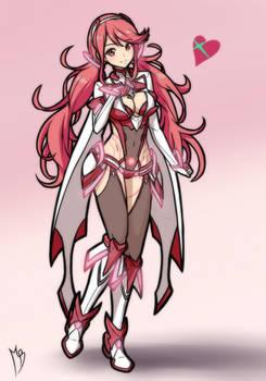Pyra-maniac (Concept Art Version :3c)