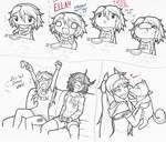 Doodle Sheet Sketchies: Silly OmniV Stuff~