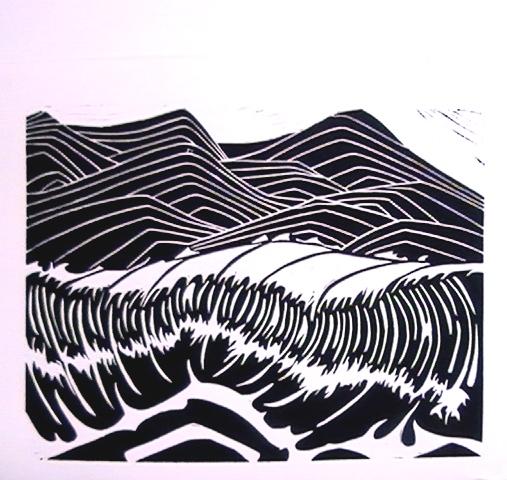 The Slightly Diminished Wave by kaikolani